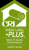 CRI Green Label for Carpet